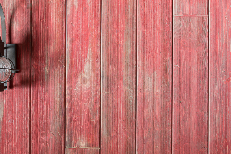 Weathered Red Barnwood