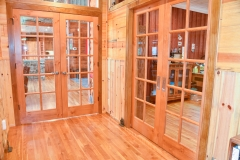 Entryway With Natural Barnwood