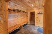 Prefinished Paneling Mud Room