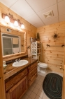 Knotty Pine Prefinished Bathroom